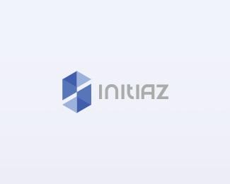 triangle,polygon,bleu,initiative,savael logo