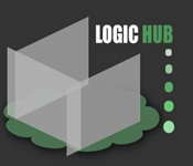 Logic Hub Mock Logo