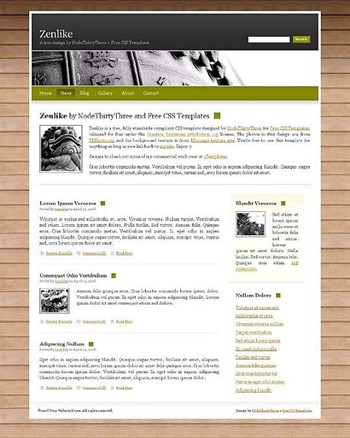 ancient,statue,wood website template