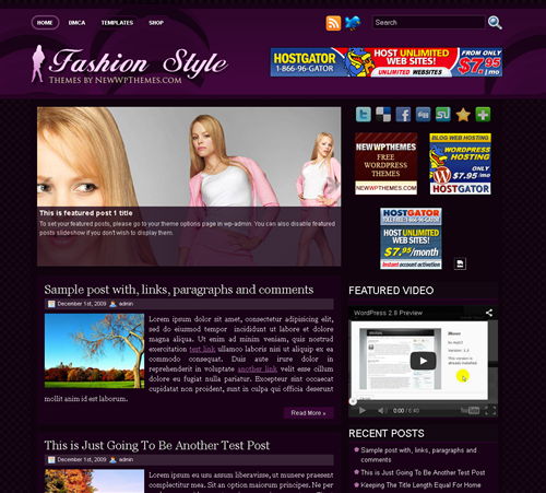 ads ready,fashion,footer columns,people wordpress theme