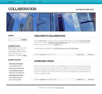 building,sky,tallest website template