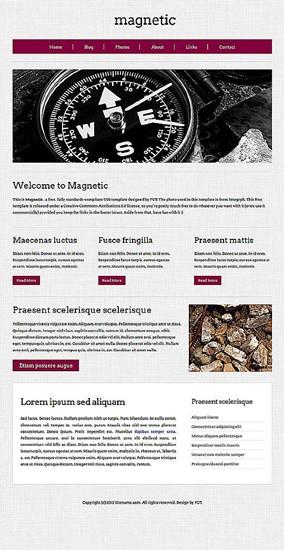blog,computers,corporate,portfolio website template