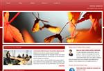 Red Leaves Web Template